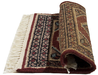Selbstlos 30x30 Cm Mat Square Small Genuine Original Hand Knotted Carpets Tapis Teppich ,