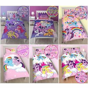 Copripiumino My Little Pony.My Little Pony Single Junior Duvet Cover Sets Girls Bedroom