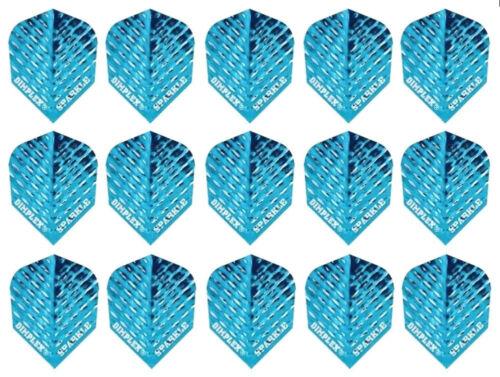 15 Flights Blue Sparkle 5 Sets Harrows Dimplex Standard Dart Flights