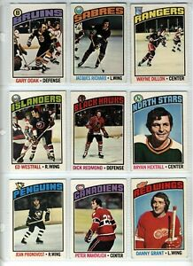 Hockey-O-Pee-Chee-1976-Cards-Choose-Upick-from-list-1-200