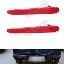 2x Right+Left Rear Bumper Reflector Light Cover For Honda CRV 2007-09 City 11-12