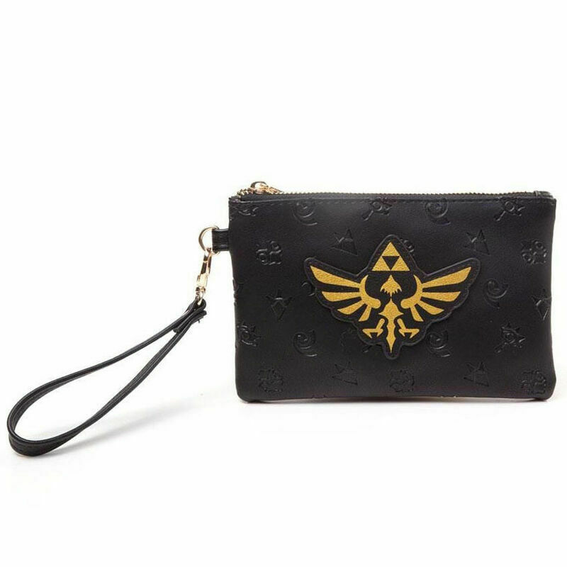 Legend of Zelda Zip-up Large Coin Purse With Carry Handle New and Licensed