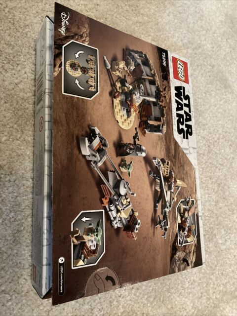 75299 LEGO Star Wars Mandalorian Ship Trouble on Tatooine No Mini Figures