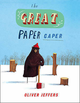 The Great Paper Caper, Oliver Jeffers, Good Condition Book