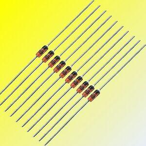 BZX55-500mW-0-5-W-e-BZX85-1-3W-Zener-Diodi-Molti-Tensioni-10-50-o-100-pezzi