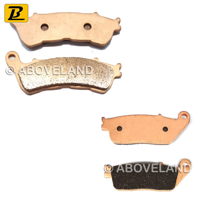 FRONT REAR Sintered Brake Pads for HONDA SW-T 400 2009-2010 2011 2012 2013 2014