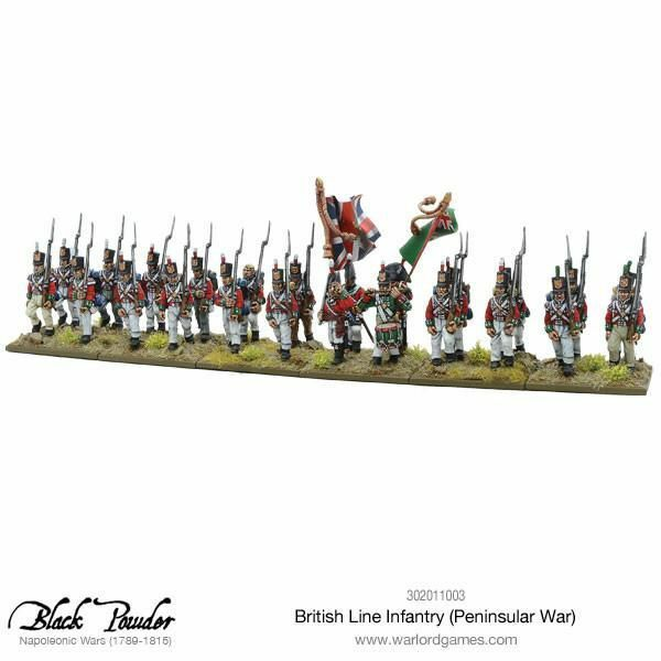 Warlord Games British British British Line Infantry Peninsular War 1 3 32in Napoleonic a2c514