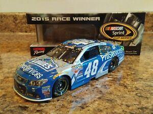 Jimmie-Johnson-Lowe-039-s-2015-1-24-Dover-Win-ARC-Lionel-Diecast
