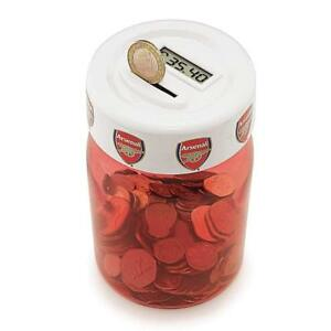 Arsenal-Counting-Coin-Jar-Arsenal-Money-Box-Ideal-Football-Gift