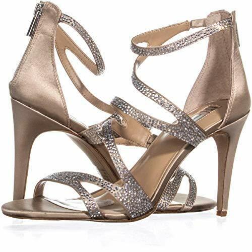INC International Concepts Women's Regann2 Strappy Sandals, Bisque, Size 10.0 7L