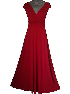 LONG FULL LENGTH MAXI EVENING COCKTAIL PARTY BALL DRESS SIZES 8 - 24