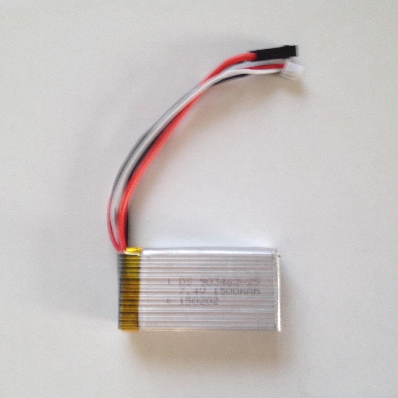 Pezzo di Ricambio Batteria di Volo Volo Volo Lipo 7.4 V 1500 Mah 68098 X-68 Starkid 68649 02fe08