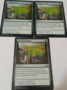 OtBG MTG Magic Uncommon NM Near Mint Circuitous Route  GRN Guilds of Ravnica