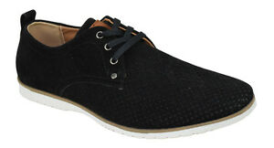 men's flat dress formal shoes lace up oxfords casual