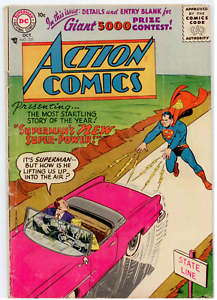 DC-Action-Comics-221-GD-VG-3-0-Superman-gains-a-new-superpower