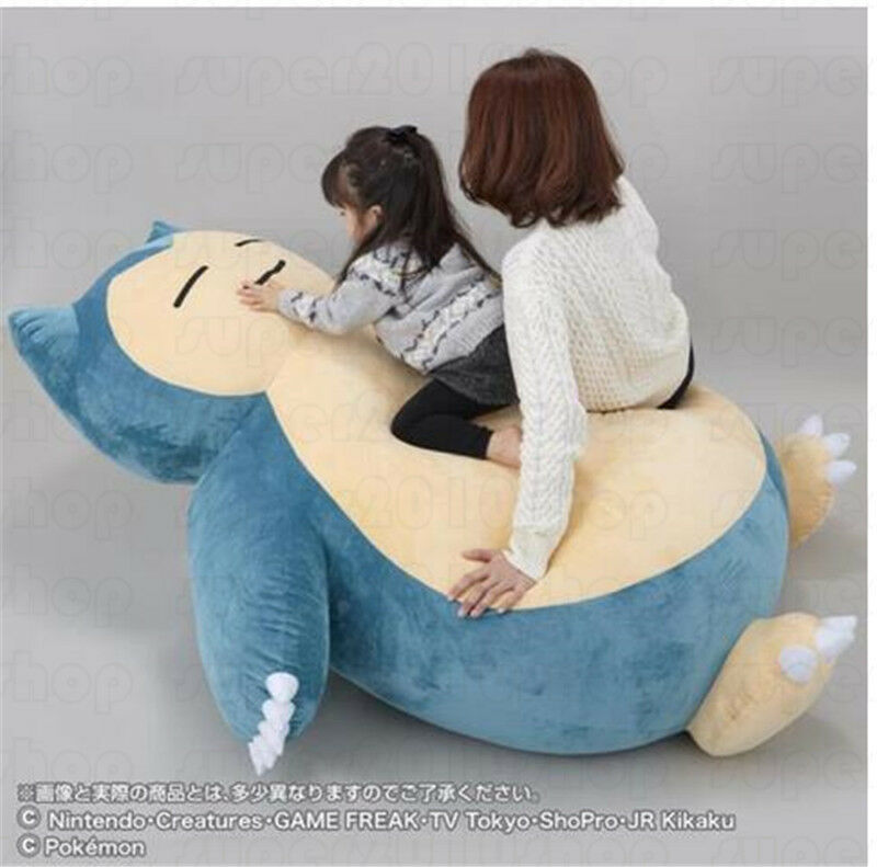 150CM Giant Big 59  anime Go Snorlax Stuffed Plush Toy Doll Birthday Xmas Gift
