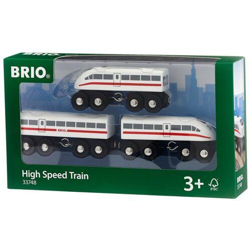 Schnellzug mit Sound 3teilig Bahn BRIO 33748