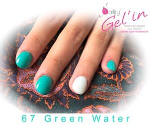 Details About Vernis Semi Permanent Naility Uv Led 67 Green Water 7ml Gel Polish Usa Show Original Title