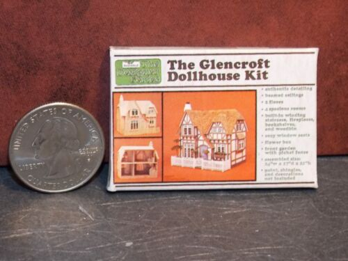 Dollhouse Miniature Dollhouse KIT Box A 1:12 one inch scale A40 Dollys Gallery