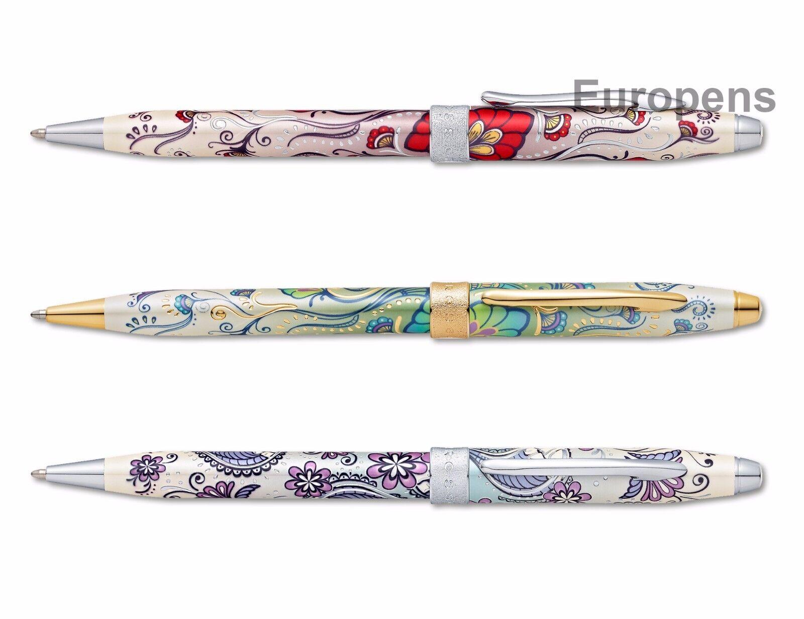 Cross Century II Botanica Kugelschreiber - geliefert in Geschenkbox - Wähle   Exquisite (mittlere) Verarbeitung    Neuer Eintrag    Qualität und Quantität garantiert