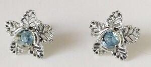 boucles-d-039-oreilles-a-pas-de-vis-vintage-fleur-cristal-bleu-couleur-argent-219
