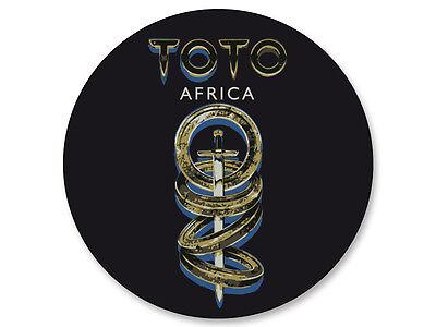 Porte clé Keychain Ø45mm Toto Rock US