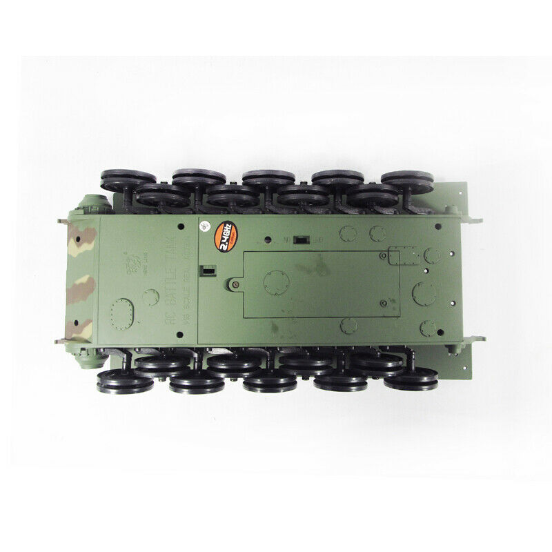 HL Replacement Plastic Chassis With Main Wheel For 1 16 RC 3888-1 KingTiger Tank