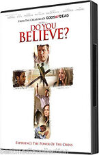 SEALED Do You Believe ? DVD Creators Of  Gods Not Dead Ships Today ! BRAND NEW