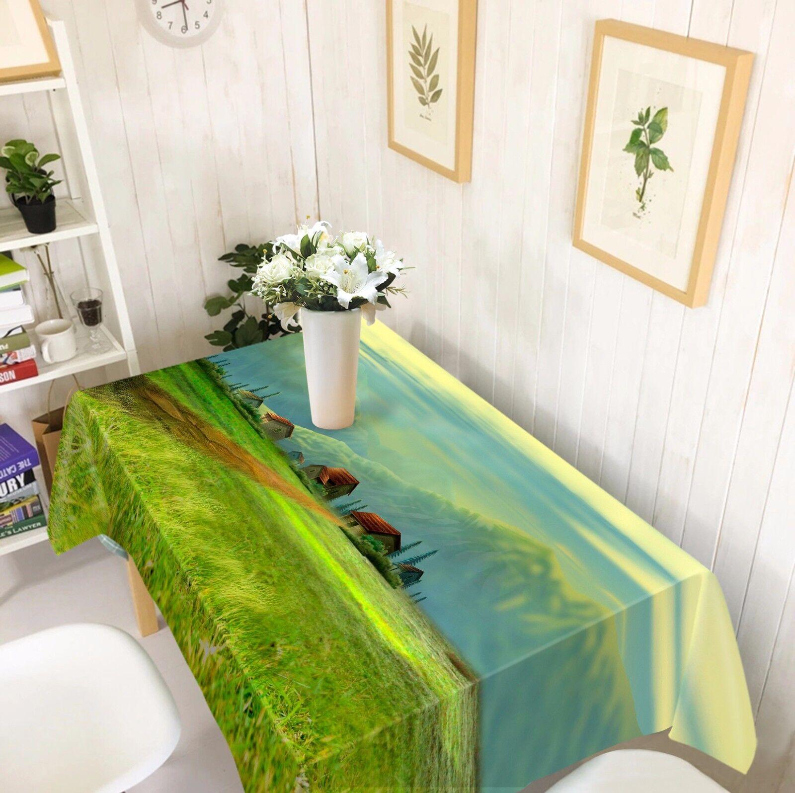 3D Prairies 83 Nappe Table Cover Cloth Fête D'Anniversaire événement AJ papier peint UK