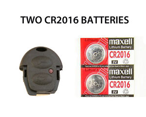 2 New Ford Galaxy 1998 2006 Remote Key Fob Batteries Cr2016 Ebay