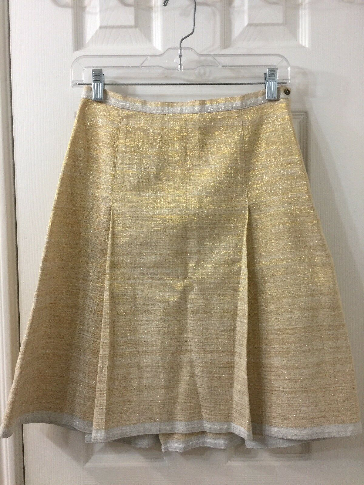 Dosa gold A Line Skirt Size 1