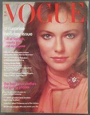 Vogue December 1973 Jacqueline Bisset Tatum O'Neal Raquel Welch David Bowie More