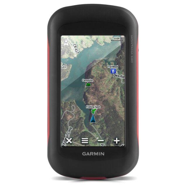 Garmin Montana 680t Handheld GPS & GLONASS W/100k US Topo Maps 4\