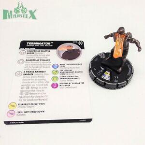 Heroclix-Avengers-Infinity-set-Terminator-031b-Rare-figure-w-card