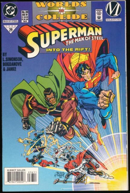 Superman, The Man of Steel, #36, August 1994 - Mint (MT)