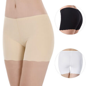b9ae4536a4e Image is loading Womens-Seamless-Anti-Emptied-Safety-Hot-Pants-Brief-