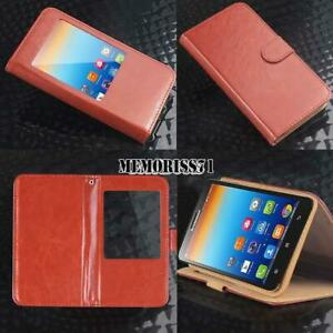 For-Various-Lenovo-SmartPhones-Flip-View-Window-Cover-Stand-Wallet-Leather-Case