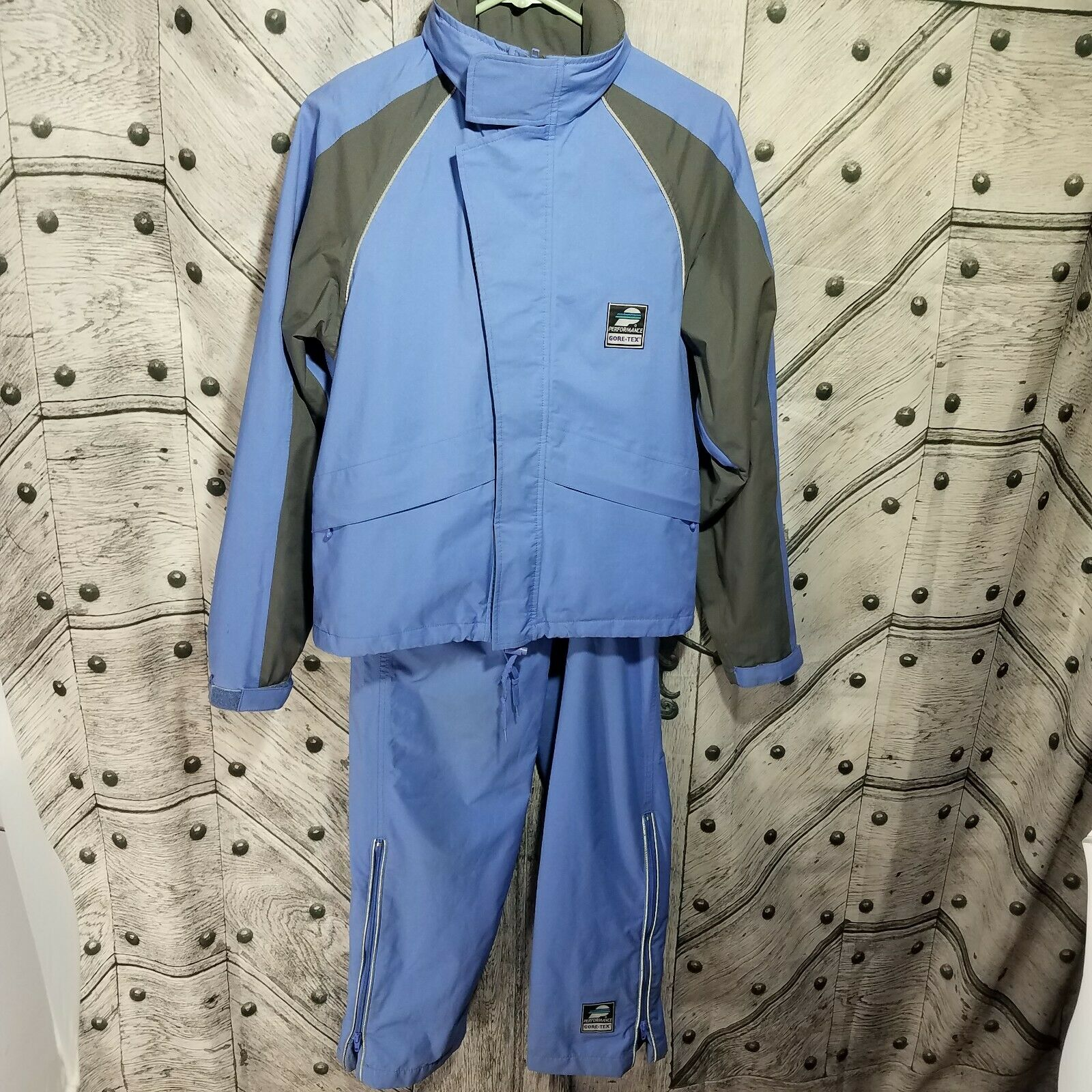 Vintage Performance Cycling Wear donna Small XS 2 Piece Gore Tex Suit Outfit