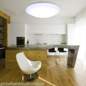 Image Is Loading 18W Modern Round LED Ceiling Light Dimmable Dining