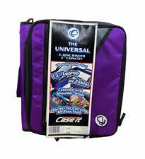 Case It Universal 2 3 Ring Zipper Binder Holds 13 Inch Laptop Purple New Lt 007