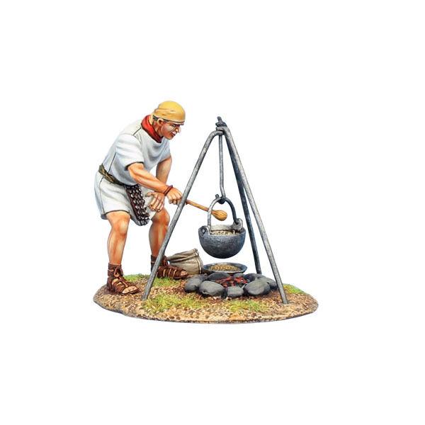 Första legionen  ROM69b Romersk legionär matlagning