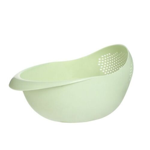 RICE WASHER STRAINER KITCHEN TOOLS FRUITS VEGETABLECLEANING CONTAINER BASKET UK