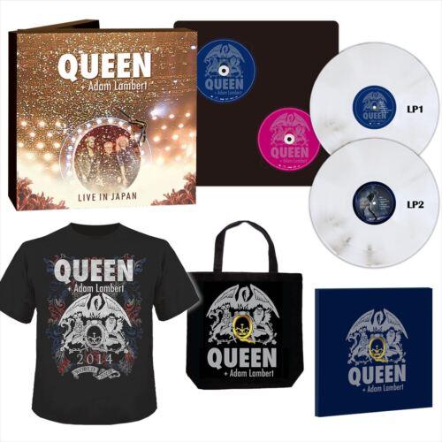 Queen Adam Lambert Summer Sonic 2014 1000 Limited Blu-ray box F/S from JAPAN