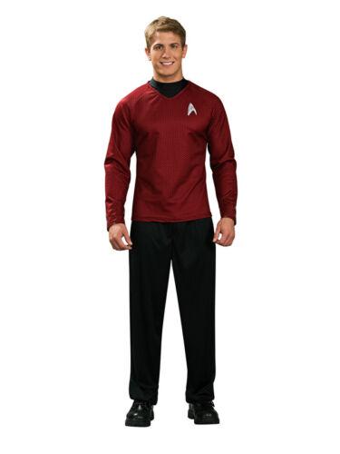 Adulte Homme Sous Licence Scotty Costume Robe Fantaisie Red Star Trek Enterprise Film