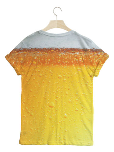 BATCH1 BEER ALL OVER FASHION PRINT NOVELTY REAL ALE LOVERS MENS T-SHIRT