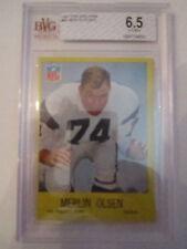 1967 MERLIN OLSEN #94 TOPPS BVG GRADED 6.5 EX-MT+  - BOX CC