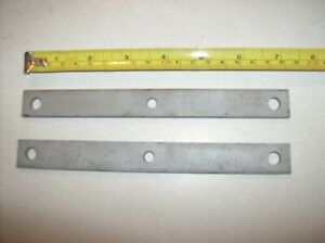 Dodge Plymouth Chrysler hold down bars//straps 383//400 Mopar Valley Pan Rails-