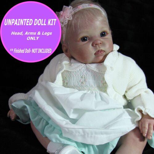 Reborn 9 month old baby doll vinyl kit unpainted W/  FREE GIFT  Cute Cuddles BIN