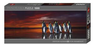 "NEW Heye Jigsaw Puzzle Game 1000 Pieces ""King Penguins"" - Alexander von Humboldt"