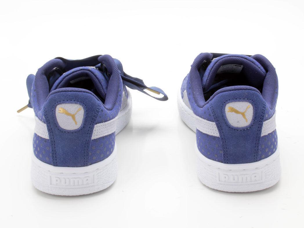Puma Basket 01 Heart Denim Wn's 363371 01 Basket blau 64eac1